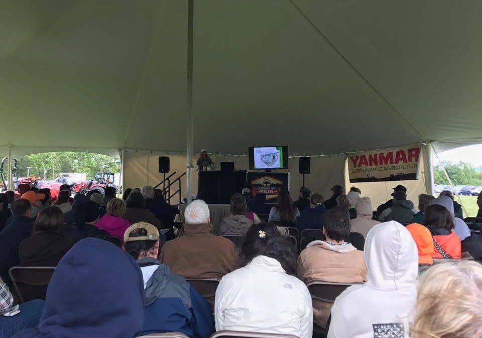 We Love Speaking at Mother Earth News Fair